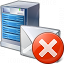 Mail Server Error Icon 64x64