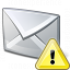 Mail Warning Icon 64x64