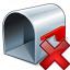 Mailbox Empty Delete Icon 64x64