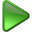 Media Play Green Icon 64x64