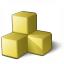 Memory 2 Yellow Icon 64x64
