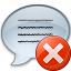 Message Error Icon 64x64