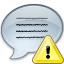 Message Warning Icon 64x64