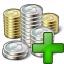 Money 2 Add Icon 64x64