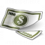 Money Bill Cut Icon 64x64