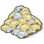 Money Coins Icon 64x64