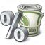 Money Interest Icon 64x64