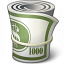 Money Roll Icon 64x64