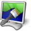 Monitor Brush Icon 64x64