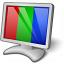 Monitor Rgb Icon 64x64