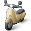 Motor Scooter Icon 64x64