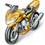 Motorbike Icon 64x64
