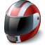 Motorcycle Helmet Icon 64x64