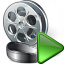 Movie Run Icon 64x64