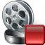 Movie Stop Icon 64x64