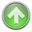 Nav Up Green Icon 64x64