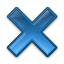Navigate Cross Icon 64x64