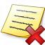 Note Delete Icon 64x64