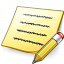 Note Edit Icon 64x64