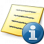 Note Information Icon 64x64
