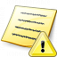 Note Warning Icon 64x64