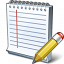 Notebook Edit Icon 64x64