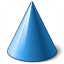 Object Cone Icon 64x64