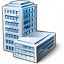 Office Building Icon 64x64