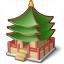 Pagoda Icon 64x64