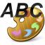 Palette Text Icon 64x64
