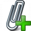 Paperclip Add Icon 64x64