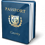 Passport Blue Icon 64x64