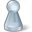 Pawn Glass Grey Icon 64x64