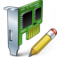 Pci Card Edit Icon 64x64