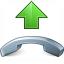 Phone Pick Up Icon 64x64