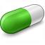 Pill Green Icon 64x64