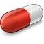 Pill Red Icon 64x64