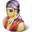 Pirate Icon 64x64
