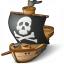 Pirates Ship Icon 64x64