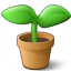 Plant Icon 64x64