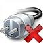 Plug Delete Icon 64x64