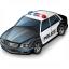Police Car Icon 64x64