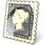 Postage Stamp Icon 64x64