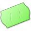 Price Sticker Green Icon 64x64