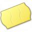 Price Sticker Yellow Icon 64x64