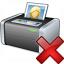Printer 3 Delete Icon 64x64