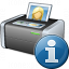 Printer 3 Information Icon 64x64