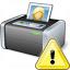 Printer 3 Warning Icon 64x64
