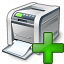 Printer Add Icon 64x64
