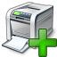 Printer Add Icon 64x64